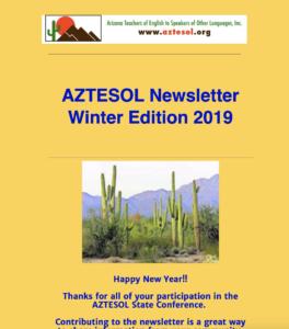 AZTESOL Newsletter
